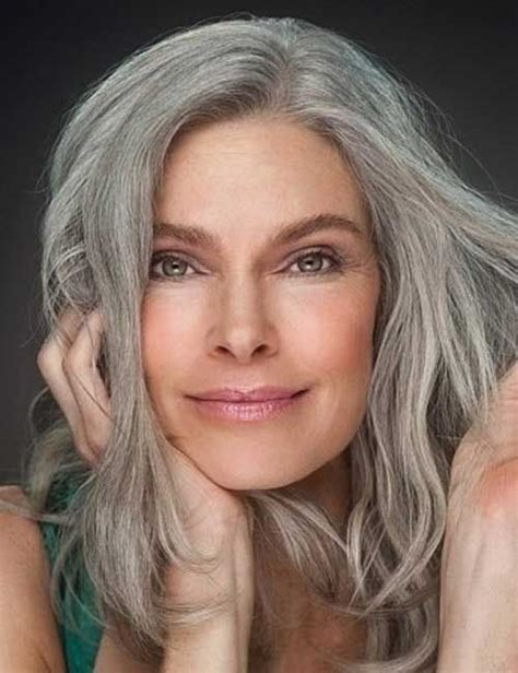 gray hair styles for women at 50 best grey hair for over 50 hairstyles pinterest more