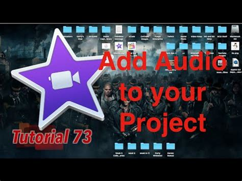 tutorial imovie 10 0 9 how to add audio to your project in imovie 10 0 9