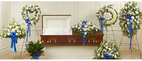 Wedding Bell Blues Meaning by Blue Sympathy Funeral Flower Arrangements