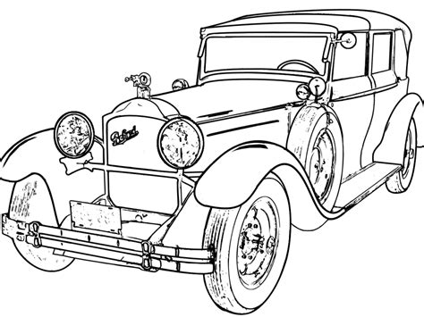 classic cars coloring book antique truck printable coloring pages antique best free coloring pages