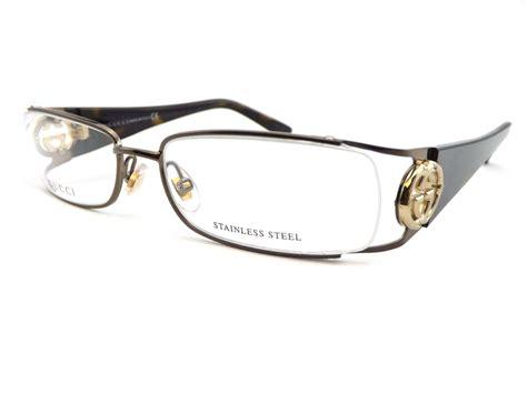 gucci womens semi rimless reading glasses 0 5 to 3 0