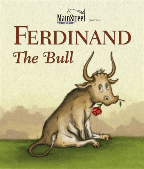 Ferdinand The Bull Press News Lewis Family Playhouse