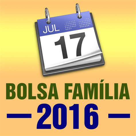 O Calendario Da Bolsa Familia 2015 Calend 225 Bolsa Fam 237 Lia 2016 C 225 Lculo Exato