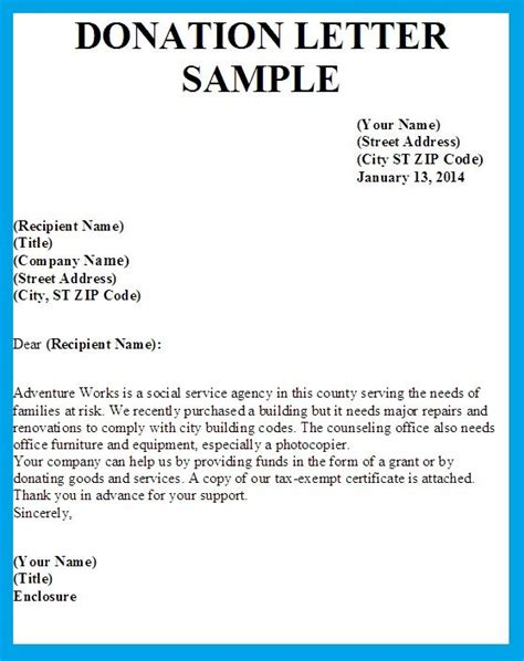 printable donation letters wowcom image results