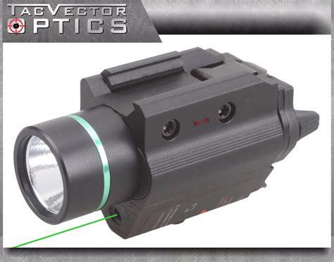 pistol laser light combo vectop optics doublecross tactical led pistol flashlight