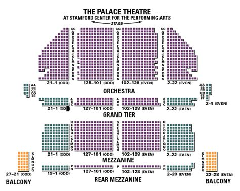 palace seating seating chart palace theater brokeasshome
