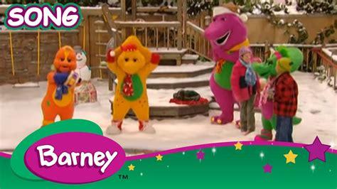 barney     merry christmas song youtube