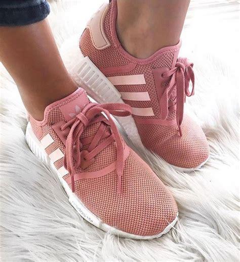 Sepatu Adidas Nmd R1 Womens Grey Pink Premium Quality shoes adidas nmd dusty pink adidas wheretoget