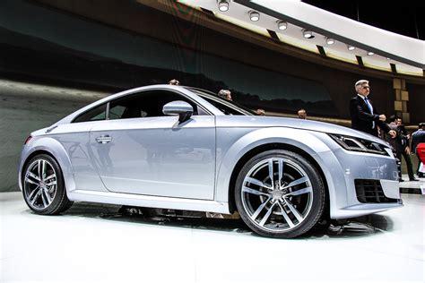 Audi Tt 2014 Werbung by Genf 2014 Audi Gibt Vollgas Und Zeigt Einen 2 0 Liter 4