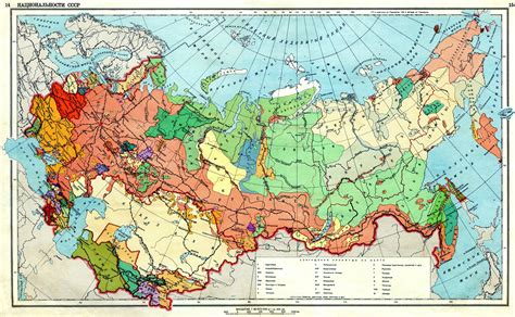 russia ethnic map historical maps of russia