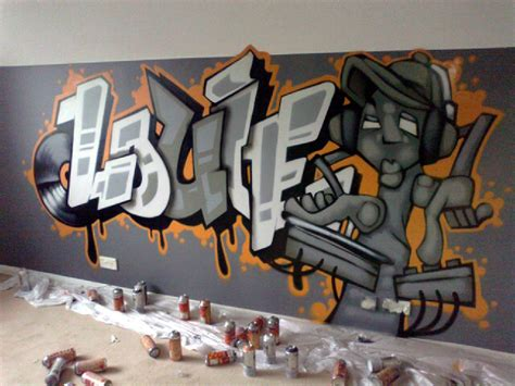 Graffiti Bedroom Wall Home Design
