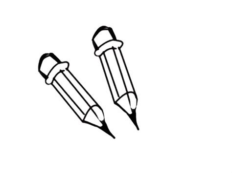 imagenes en blanco y negro de utiles escolares dibujo infantil para colorear de l 225 pices dibujos del