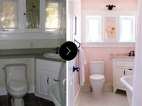Bathroom Vanity Experts Before Amp After All Hail The Pink Bathroom Design Sponge