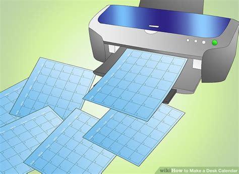 make a desk calendar how to make a desk calendar 11 steps with pictures