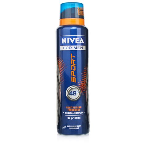 Auto Deo by Nivea For Sport Deodorant Spray Chemist Direct