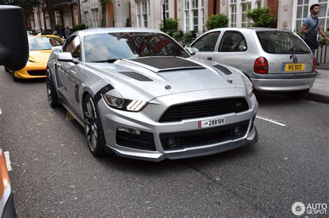 Ford Mustang Roush Stage 3 by Ford Mustang Roush Stage 3 2015 14 July 2016 Autogespot
