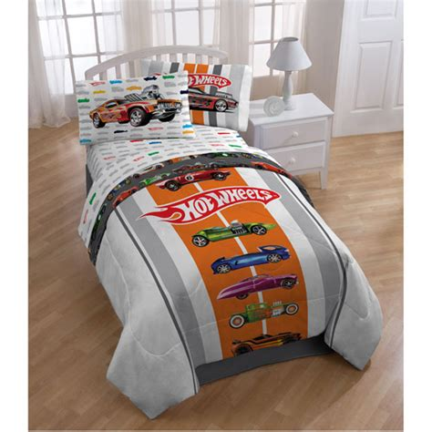 hot wheels comforter hot wheels bedding comforter walmart com
