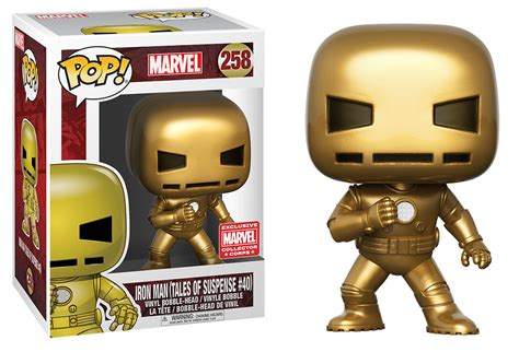 collector corps exclusive gold iron funko pop out now fpn