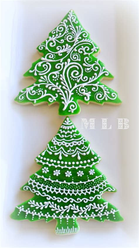 christmas tree of cookies recipe dishmaps
