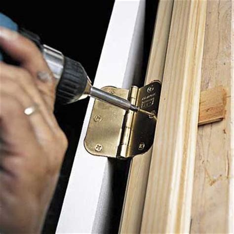Installing Door by Replace Hinge How To Install A Prehung Door This
