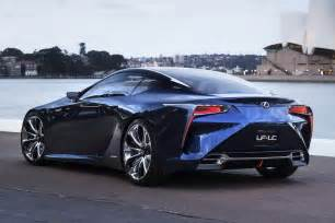 lexus unveils blue lf lc concept for sydney auto show