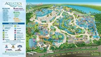 seaworld florida map aquatica orlando