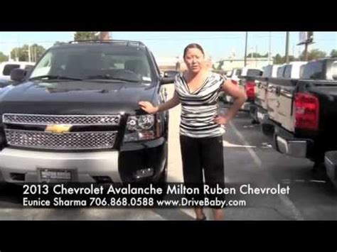 2013 chevrolet avalanche at milton ruben chevrolet with