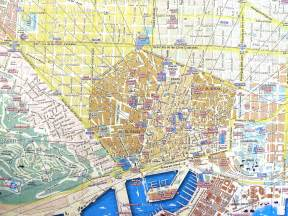 Maps street map barcelona