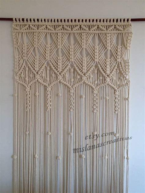 macrame curtain patterns best 25 macrame curtain ideas on pinterest hanging door