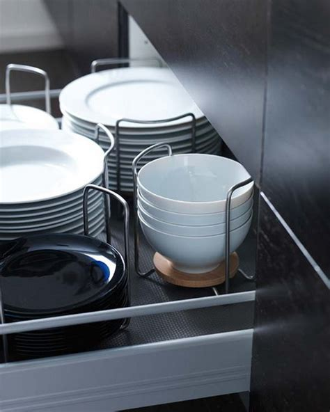 ikea plate storage picture of kitchen drawer organization ideas