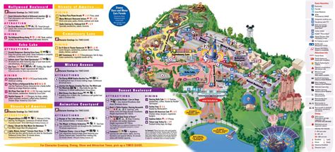 disney studios map mgm studios orlando theme park disney studios map travel theme parks