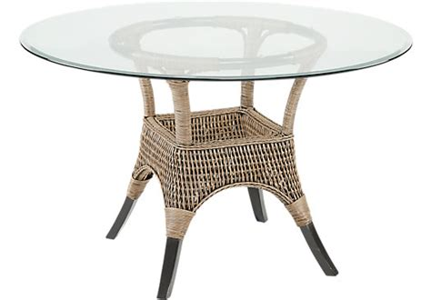 abaco rattan dining table dining tables wood