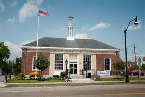 Lancaster Post Office by Lancaster Erie New York United States City Town And