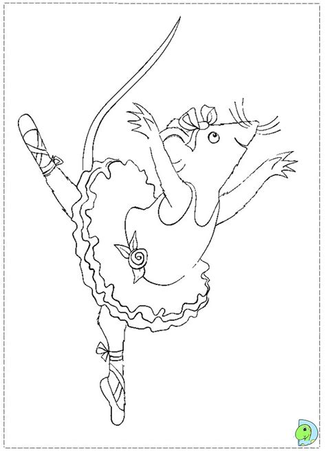 coloring pages of angelina ballerina angelina ballerina coloring page az coloring pages