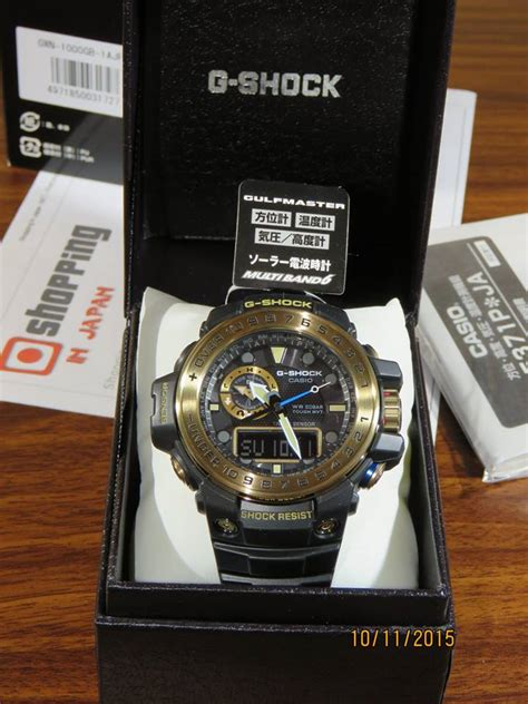 G Shock Gwn1000 Black Gold g shock gulfmaster gwn 1000gb 1a black and gold 8 casio