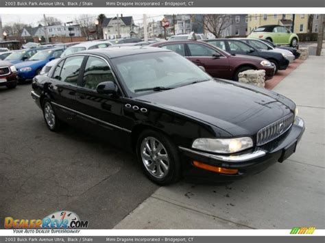 buick park avenue ultra 2003 buick park avenue ultra black shale photo 3