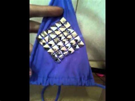decorar ropa con tachas decorar tu ropa con apliques de tachas parte 2 youtube