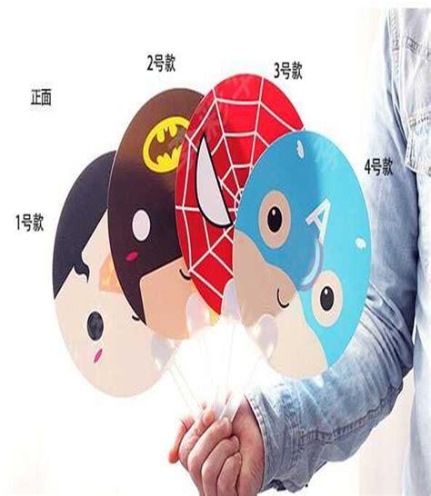 Kipas Tangan Karakter Tanpa Baterai jual kipas angin tangan heroes superman batman