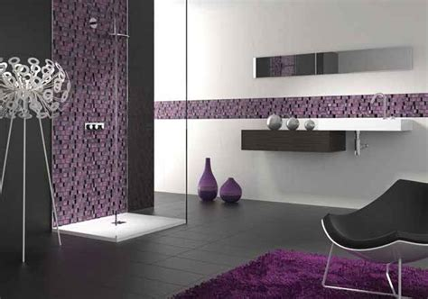 black white purple bathroom 13 best images about dise 241 os mosaicos on pinterest