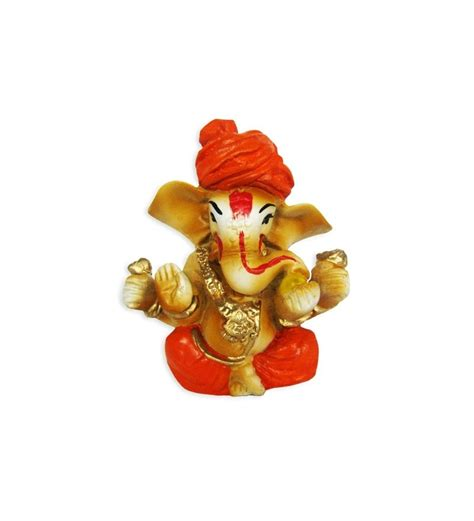 Online Shopping For Home Decor In India by The Bombay Store Ganesh Small Pagadi By The Bombay Store