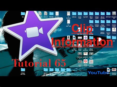 tutorial on imovie 10 0 6 clip information within the inspector in imovie 10 0 6
