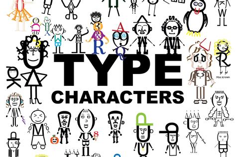 typography characters type character 187 mrs cox class