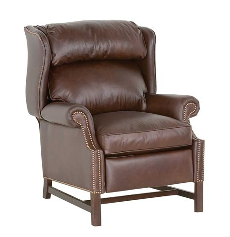 leather high leg recliner classic leather chippendale high leg recliner 759 hlr
