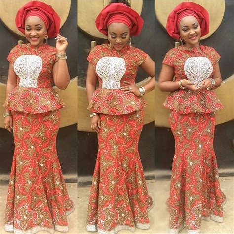 styles of blouses for traditional marriage 9 amazing nigerian traditional skirt and blouse styles