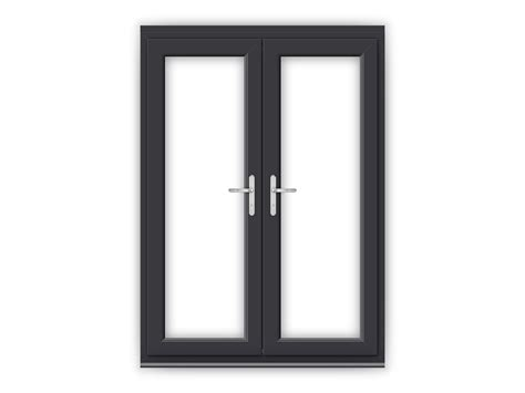 5ft Anthracite Grey uPVC French Doors   Flying Doors