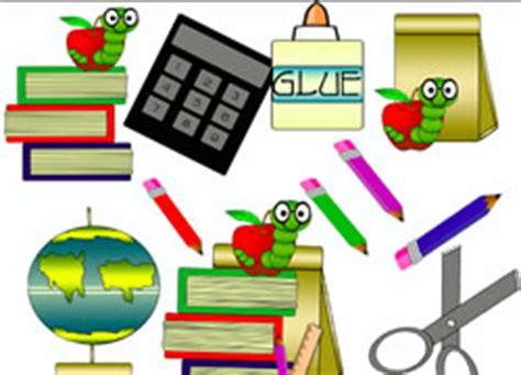 Classroom Materials Clipart