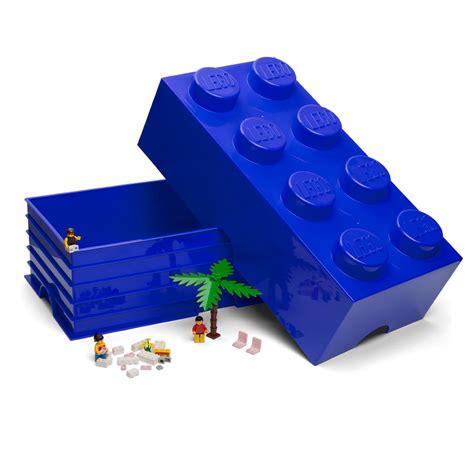 Lego Storage Brick 8 Blue Dc001029 lego blue storage brick 8 studs s of kensington