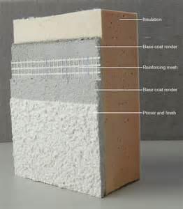 structherm external wall insulation insulated render
