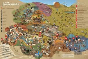 Map Of San Diego Zoo by Park Map San Diego Zoo Safari Park