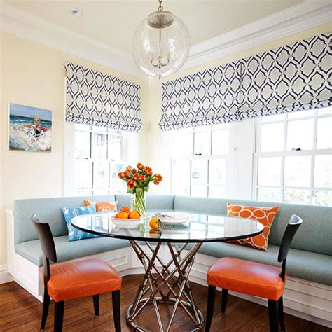 smart beautiful kitchen banquettes traditional home